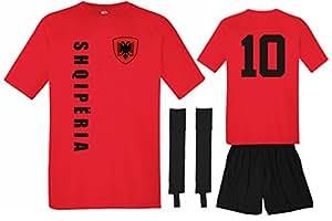 Albanien Trikot + Hose + Stutzen – No.10 EM 2016