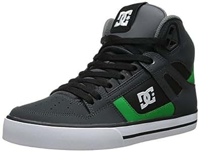 DC Spartan High WC Messieurs haute Sneakers - Gris - Grau (GREY/BLACK/GREEN - XSKG), 44
