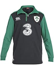 Irlande IRFU 2015/16 Enfants - Maillot de Rugby Classique Alterné ML - taille 12YRS