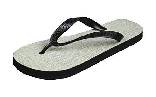 Flip Flop Zoris - Reisstroh Schuhe / Slipper Badeschuhe Flip-Flop Badelatschen Badeschlappen Sandale Zehentrenner, Gr. 40-42