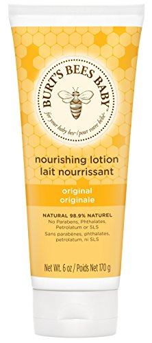 Burt's Bees Baby Original pflegende Lotion, 1er Pack (1 x 170 - Baby-shampoo-lotion