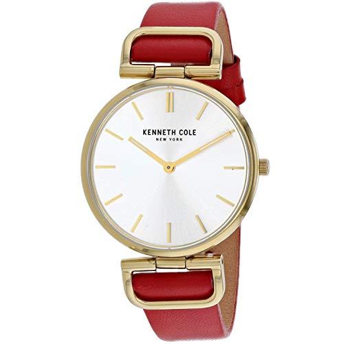 Kenneth Cole Classic Reloj de Mujer Cuarzo 36mm Correa de Cuero KC50509003