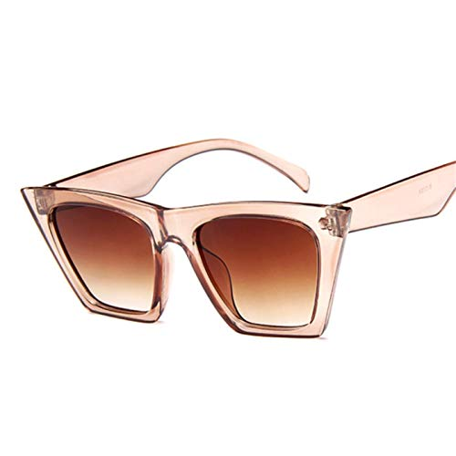 Sport-Sonnenbrillen, Vintage Sonnenbrillen, Fashion Cat Eye Sunglasses Women Designer Luxury Sun Glasses For Women Square Oversized Shades Female Lady