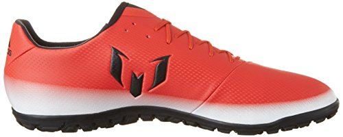 adidas Messi 16.3 TF, Chaussures de Futsal Homme Rouge (Red/core Black/ftwr White)