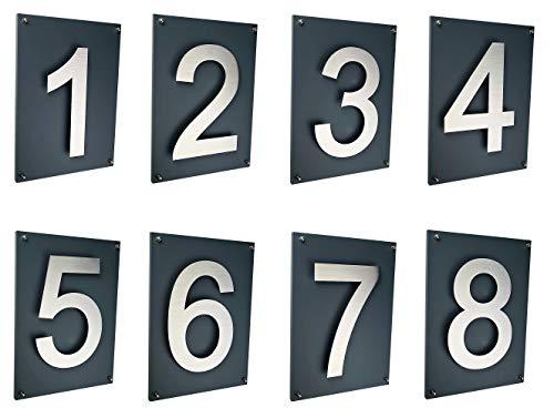 Designer Briefkasten / Mailbox / Modell 333 Edelstahl 18/0 mit Schutzlackierung und Zeitungsfach / NUR 1 x VERSANDKOSTEN FÜR ALLE BESTELLUNGEN ZUSAMMEN !!! - 7
