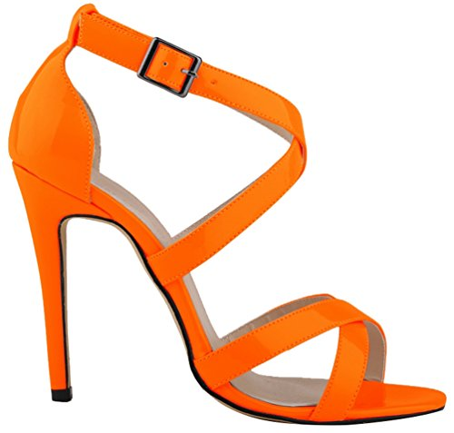 CFP ,  Damen Peep Toes Orange