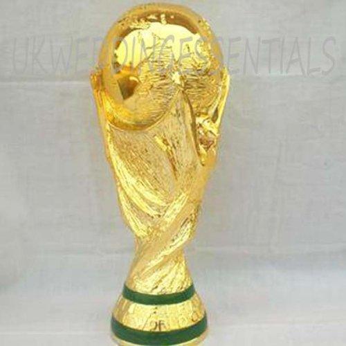 Volle Größe 2kg WM Pokal Fußball genauso wie die Original Neu Geschenk