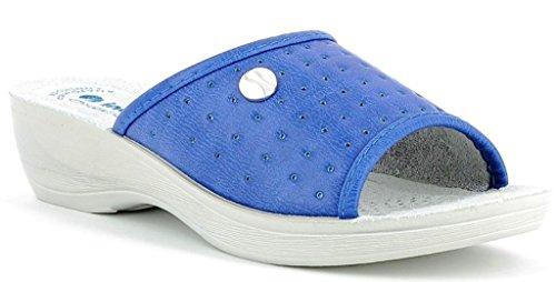 INBLU PANTOFOLE CIABATTE SANITARIE DONNA mod. PL-40 jeans (36)