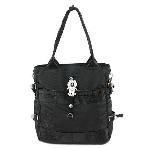 George Gina & Lucy Basic Nylon Magic Maki Bolso shopping negro