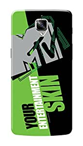 MTV Gone Case Mobile Cover for OnePlus 3