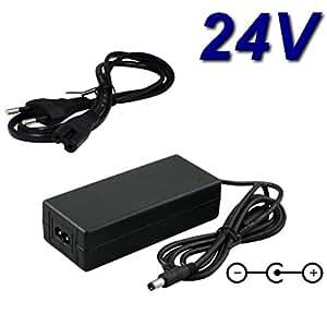 TOP CHARGEUR ® Adaptateur Secteur Alimentation Chargeur 24V pour TV LED Téléviseur LG 22LE3300 22LE3300-ZA