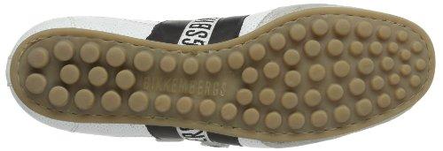 Bikkembergs 640980 Herren Sneaker Weiß (weiß/schwarz 3)