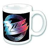 empireposter - ZZ Top - Circle Logo - Größe (cm), ca. Ø8,5 H9,5 - Lizenz Tassen, NEU - ZZ Top Boxed Mug: Circle Logo  - Beschreibung: - Keramik Tasse, weiß, bedruckt, Fassungsvermögen 320 ml, offiziell lizenziert, spülmaschinen- und mikrowellenfest -