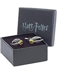 Offizielle Warner versilbert Bros Harry Potter goldener Schnatz Manschettenknöpfe