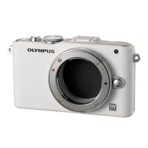 Olympus-Systemkamera, E-PL3 Weiß Objektiv 14-150 mm, Silber, 12.3 Mpixels, Full HD, schwenkbar