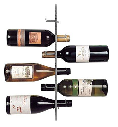 JWP LTD Navarra 6Flasche Wein Rack, Silber