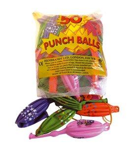 Punchingball Luftballons, 50 Stück