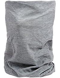 Foulard multifonction sans couture en forme de tube, tour de coup morf écharpe multi-usage multi-scraf Près de 10 produits en 1: Bandeau, bonnet, bandana, cagoule, attache-cheveux femme fille ALSINO, choisir:MF-232 gris