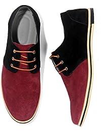 Sunny&Baby Männer Business Brogue Schuhe PU-Leder oberen Lace Up Wingtip Dekoration atmungsaktiv starke Sohle Oxfords Abriebfeste (Color : Schwarz, Größe : 38 EU)