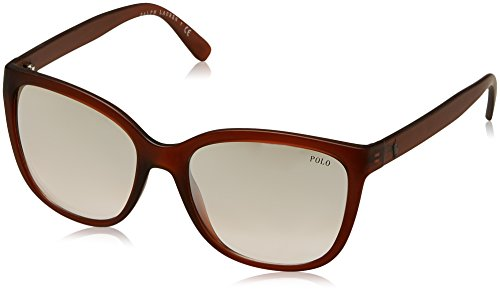 Polo Ralph Lauren Damen 0Ph4114 52338Z 55 Sonnenbrille, Braun Brown