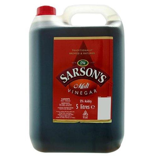 Sarsons vinaigre de malt 1X5LTR