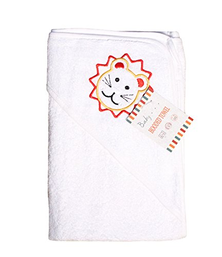 Hooded Towel 0-5 years EFY White Baby Hooded Bath Robe or White Hooded Towel with a BOXING GLOVE Logo and Name of your choice.