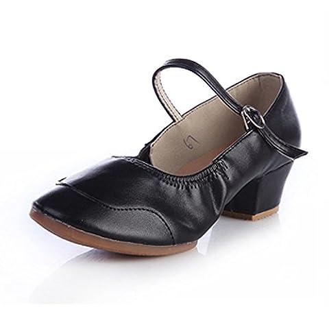 Grosse Chaussure - CHNHIRA Été Chaussure à gros Talon de