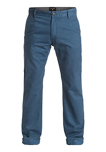 Quiksilver Everyday Chino M Ndpt Bme0, Color: Dark Denim, Size: 34