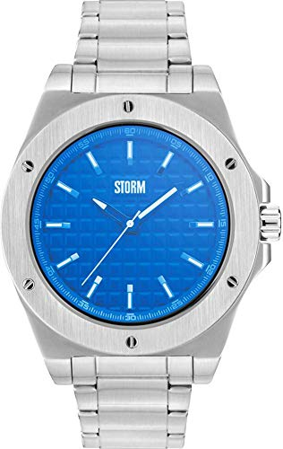 Storm London Hexton 47285/B Reloj de Pulsera para hombres Carcasa Maciza