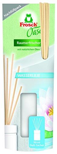 Frosch Oase Raumerfrischer Wasserlilie Nachfüllpack, 2er Pack (2 x 90 ml)
