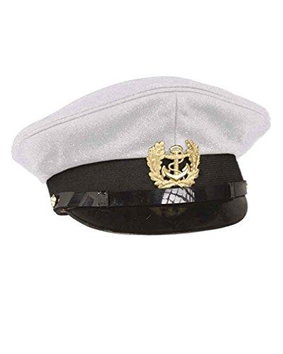 Mil-Tec Marine Schirmmütze m. Abz. Weiß Gr.59
