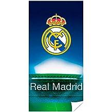 Real Madrid Toalla, Microfibra, 70 x 140 cm