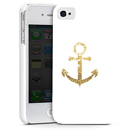Apple iPhone 7 Hülle Case Handyhülle Anker Gold Sommer Premium Case glänzend