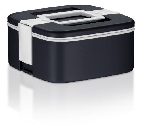 Alfi Lunchbox, Contenitore per Cibo, Pietanziera, Plastica, colore nero, 0,75l, 2127004075