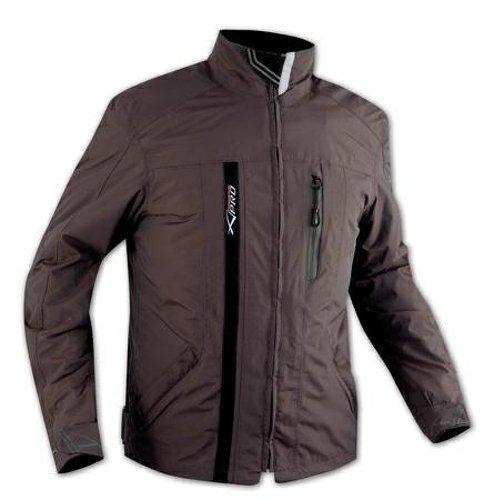 A-Pro - Chaqueta textil impermeable, con protectores CE con forro térmico, para...