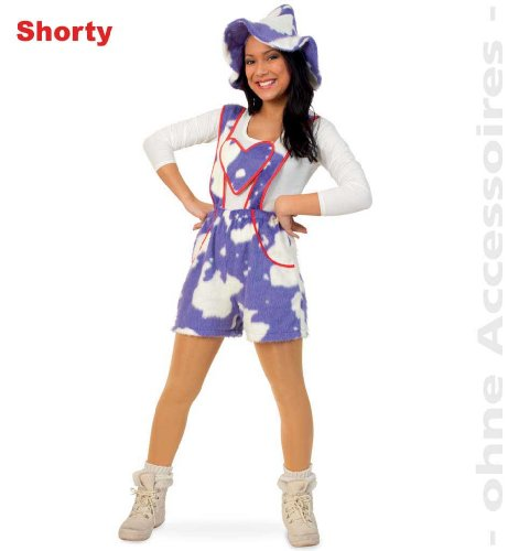 FASCHING 10650 Kostüm Babsi Shorty Kuh-Hose lila NEU/OVP: Größe: 40 (Lila Hose Kostüme)