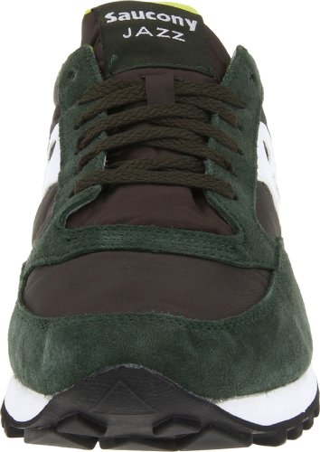 Saucony Jazz Original mixte adulte, suède, sneaker low Dark Green