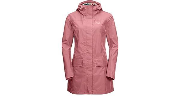 5d0df7326 JackWolfskin Cape York Coat 1111241-2131 Damen-Regenmantel Rose ...