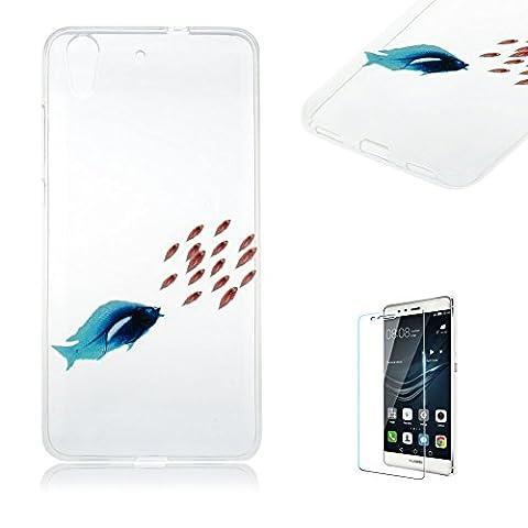 Pour Huawei Y6II/Honor de 5A [Scratch Resistant] Coque TPU souple