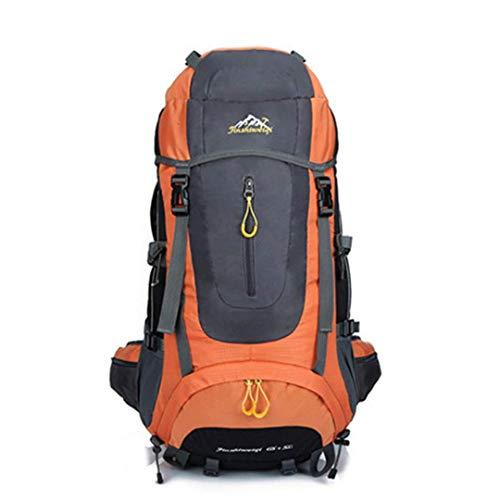 SCJ 50L Rucksack wasserdichte Outdoor Wanderrucksack Camping Reise Trekking Rucksack Wandern Sporttaschen Klettern Rucksack