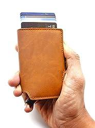 AACARA Brown Credit Card Case