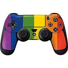 Elton PS4 Controller Designer 3M Skin For Sony PlayStation 4 , PS4 Slim , PS4 Pro DualShock Remote Wireless Controller (set Of Two Controllers Skin) - Vertical Rainbow Flag