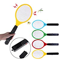 Fugift Electric Anti Mosquito Fly Swatter Bug Zapper Killers Racket Home Pest Control
