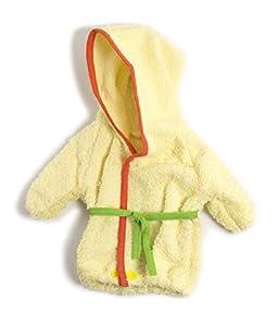 Miniland Albornoz Vestido para muñecos de 40cm, Color verde 38-40 cm 31555