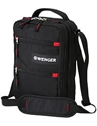 Wenger Mini-Bordgepäcktasche Hochformat Umhängetasche, Schwarz
