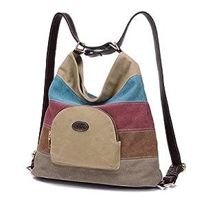 Bolsa de lona de las mujeres / bolsos de hombro / Mochila