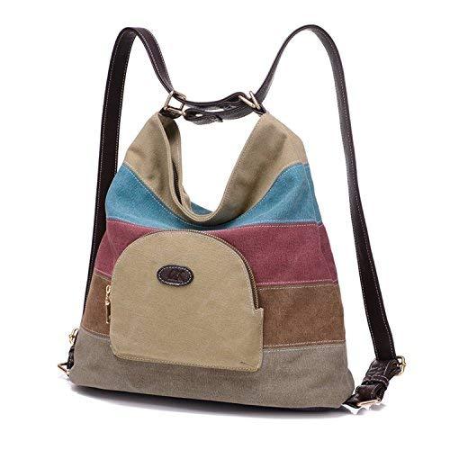 Bolsa lona mujeres / bolsos hombro / Mochila Khahi