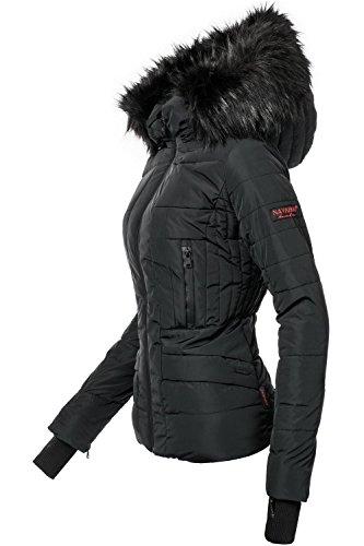Navahoo Damen Winter Jacke Steppjacke Adele (vegan Hergestellt) 11 Farben XS-XL