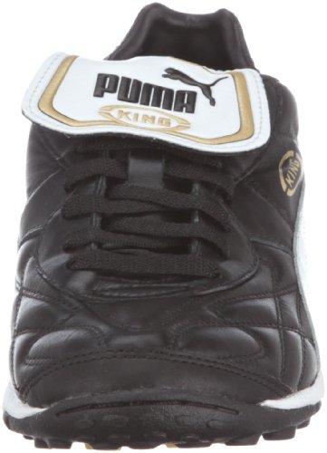 Puma King Allround Tt, Chaussures de Football Homme Noir (Black-white-team Gold 01)