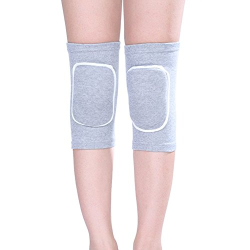 Unisex Adult and Kids Breathable Thicked Crashproof Antislip Dance Volleyball or Other Sports Foam Cotton Kneepads Knee Cap Support Elastic Knee Brace Protector Pad Wrap Tape